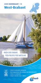 ANWB Waterkaart 13 West-Brabant