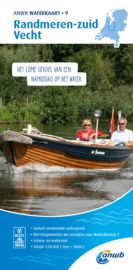 ANWB Waterkaart 9 Randmeren-zuid Vecht