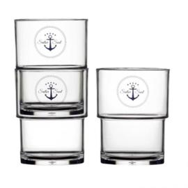 Sailor stapelbare glazen (6 stuks)