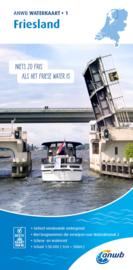 ANWB Waterkaart 1 Friesland