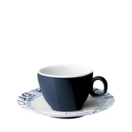 Brunner Blue Ocean espresso kop en schotel