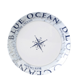 Brunner Blue Ocean bord 25 cm