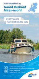 ANWB Waterkaart 16 Noord-Brabant Maas noord