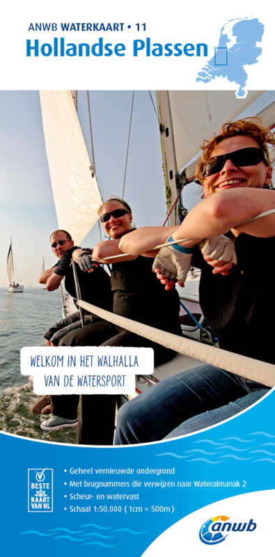 ANWB Waterkaart 11 Hollandse plassen