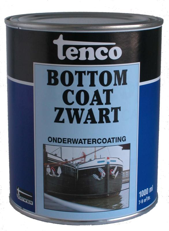 Tenco Bottomcoat Zwart 1 liter