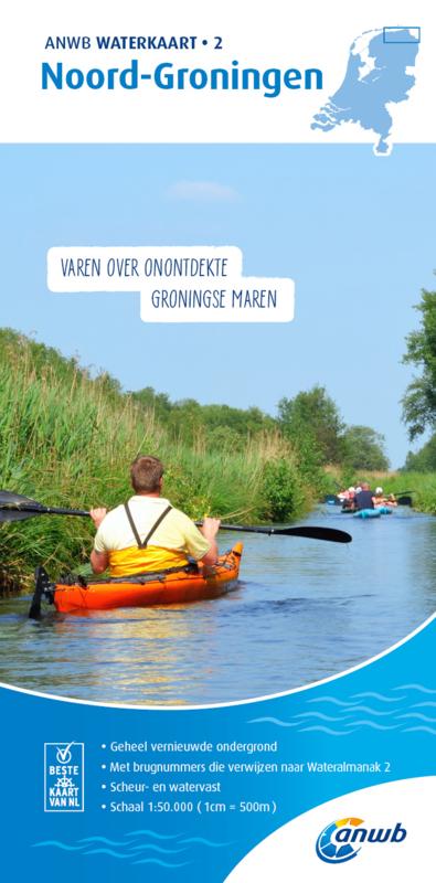 ANWB Waterkaart 2 Noord-Groningen