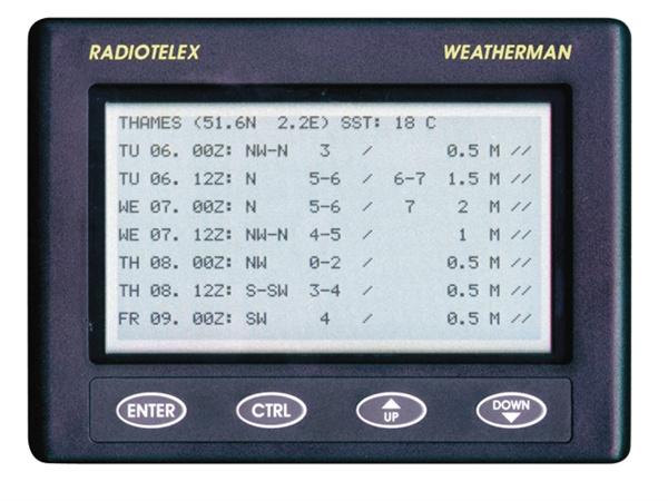 Nasa Weatherman met staafantenne