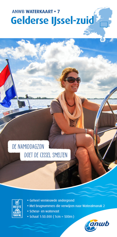 ANWB Waterkaart 7 Gelderse IJssel Zuid