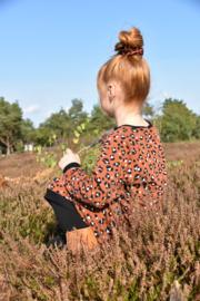 Sweaterdress lynx roest