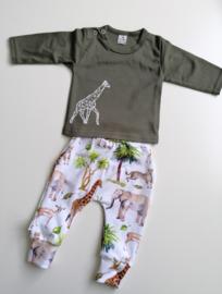 Longsleeve giraf