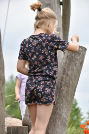 Retro shorts bloemetje
