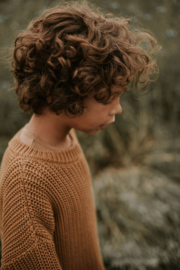 Chunky Knitted Sweater - GOLD