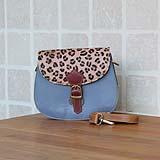 Animal Nila bag mini blauw