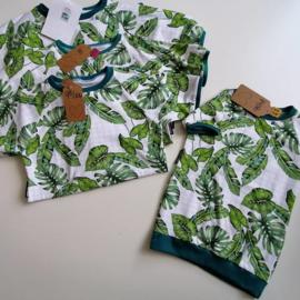 Sweaterdress botanisch 74/80