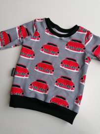 Sweater retro cars