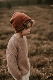 Chunky Knitted Sweater - MIST