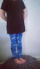 Panter kobaltblauw
