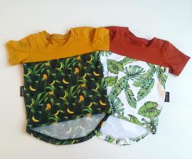 Color block tshirts