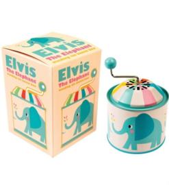 Muziekdoosje olifant Elvis