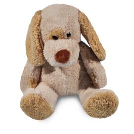 Hond met naamshirt (45 cm)