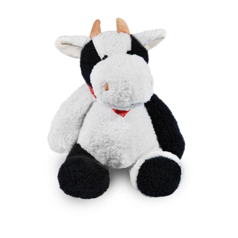 Koe met naamshirt (45 cm)