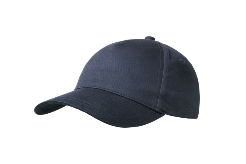 Kindercap navy met naam