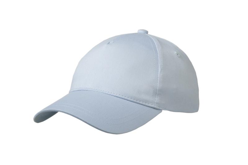 Kindercap lichtblauw met naam
