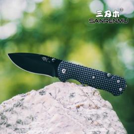 SRM 7045/T21 mes met 2 tools zwart