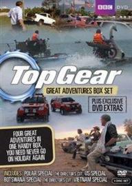 Top Gear: Great Adventures set van 4 DVD's