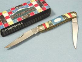 Rough Rider Stoneworx Muskrat Pocket Knife