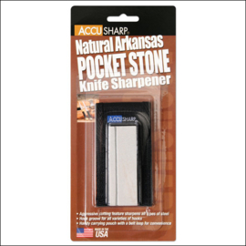 AccuSharp Natural Arkansas Pocket Stone Sharpener
