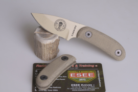 ESEE Candiru micarta greepdelen groen (zonder mes)
