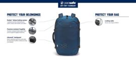 PACSAFE Venturesafe EXP45 Econyl Carry-On Rugzak - ocean