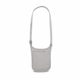 PACSAFENeck Pouch Coversafe V75 - neutral grey