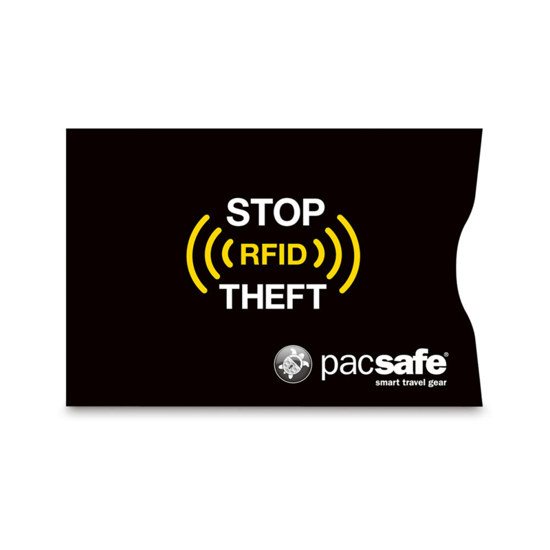 PACSAFERFID Blocking Creditcard Sleeve