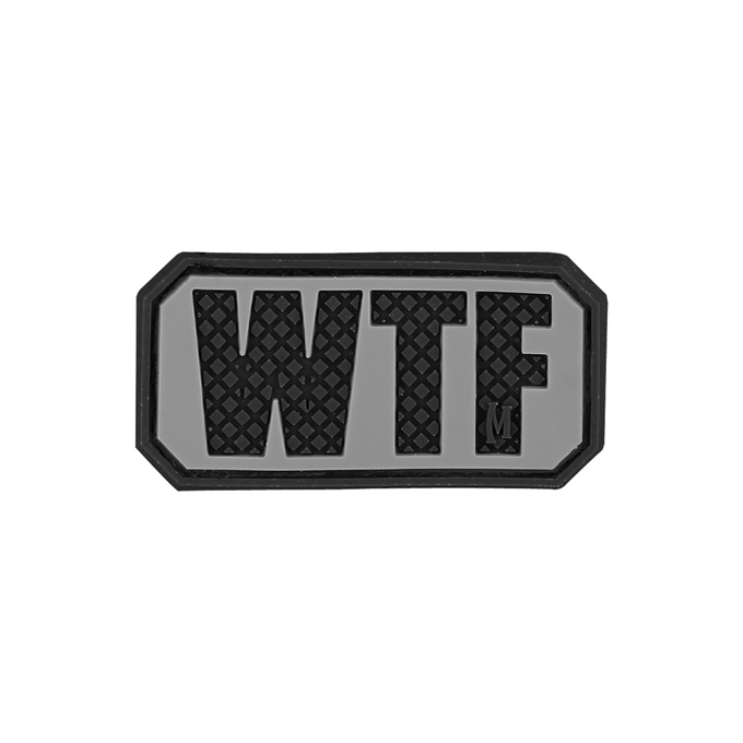 Maxpedition WTF PATCH Black
