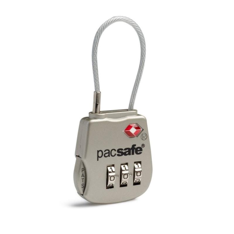 PACSAFEProsafe 800 TSA 3-Dial Kabelslotje