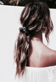 Velvet Scrunchie - roze