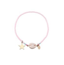 Shell en Star Armbandje - Roze