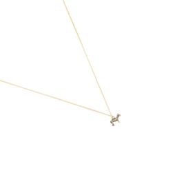 Zebra Ketting - Goud & Zilver