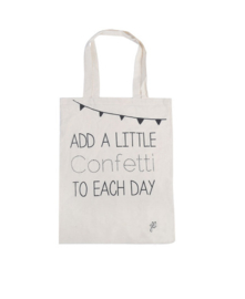 Add a Little Confetti to Each Day Tas