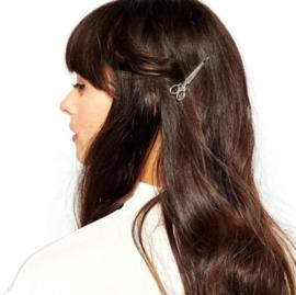 Schaar Haarspeld - Zilver