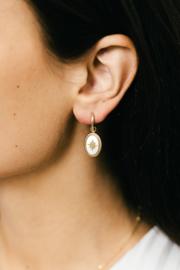 Starlight oorbellen - Goud/Zilver