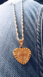 Golden Heart Ketting - Goud