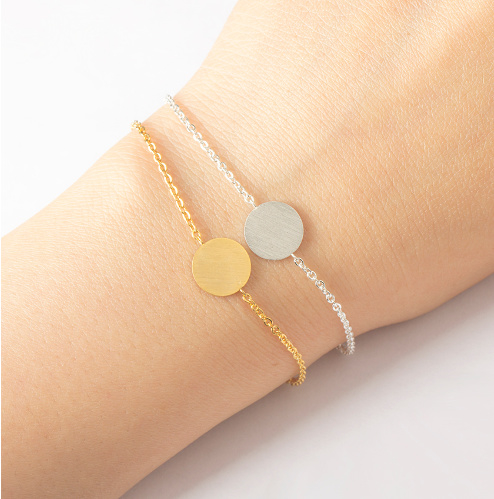 Roundie Armband - Goud/Zilver