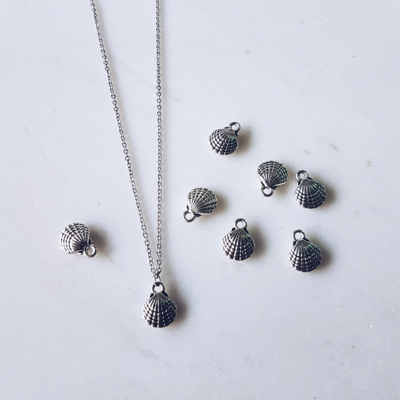 Shell Ketting - Zilver