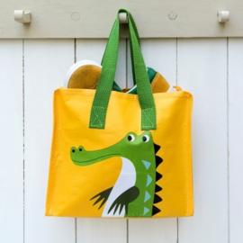 Rex Londen Mini shopper Krokodil