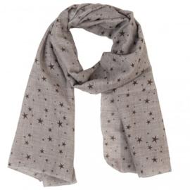 Sjaal grijze ster