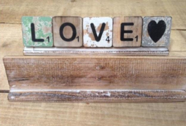 Letterplank 30 cm