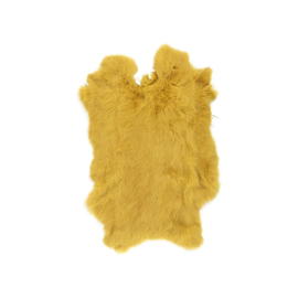Konijnenvacht geel goud
